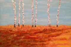 Quatro Stagioni/Four Seasons - AUTUNNO - Olio su tela/Oil on Canvas 34cm. x 26.5cm. 1600 Euro ( 4 tele )