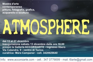 Cartolina Atmosphere fronte